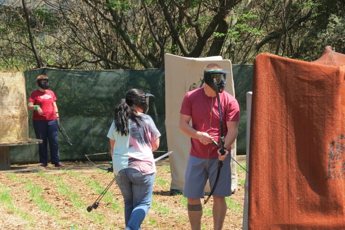 East Archers Combat Archery 2