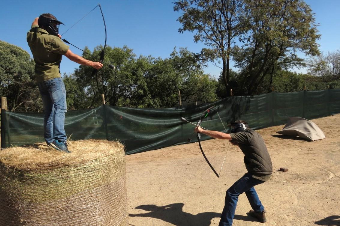 East Archers Combat Archery 6