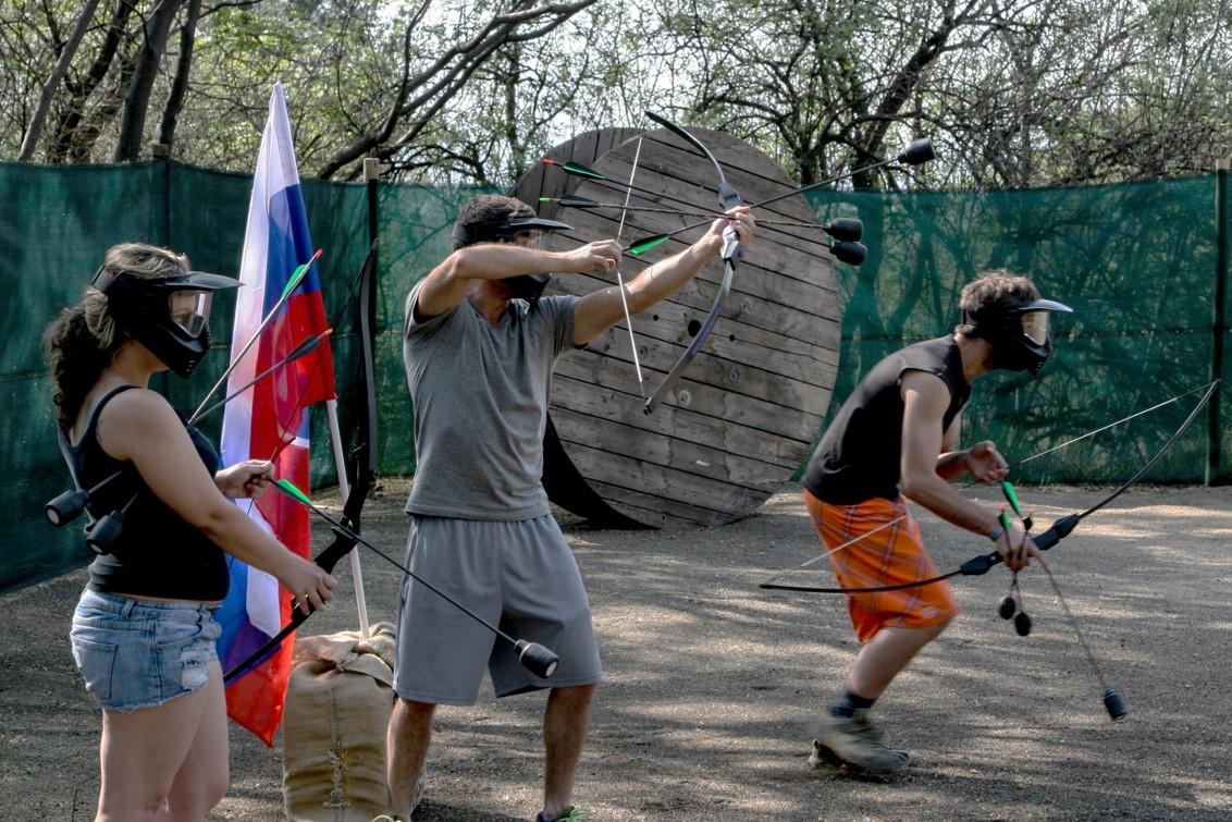 East Archers Combat Archery 8